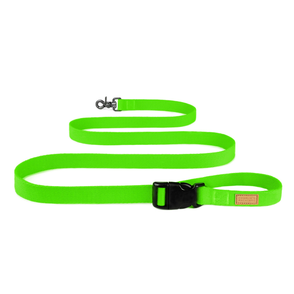 FIELD LEASH / NEON GREEN
