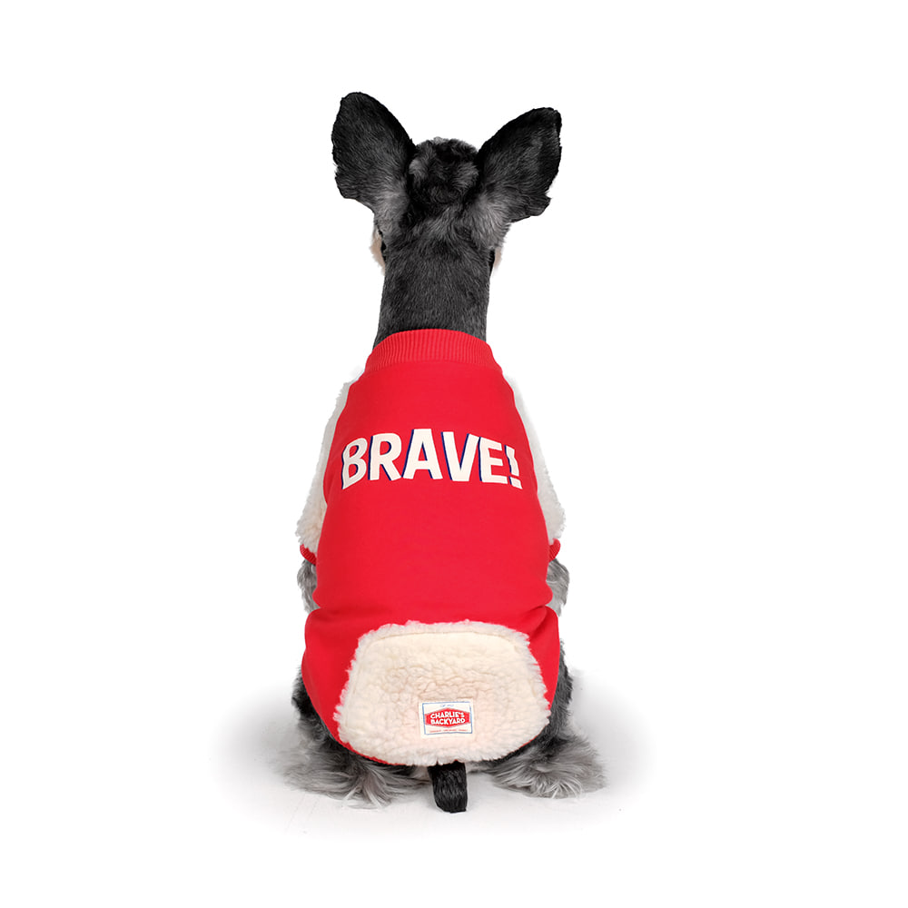 BRAVE TEE / RED