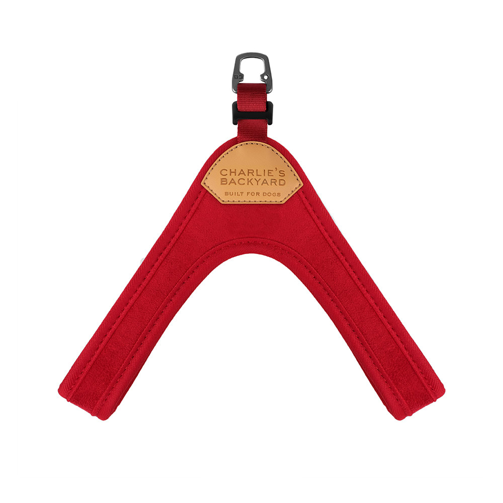 BUCKLE UP EASY HARNESS / RED
